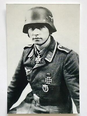 "WWII Luftwaffe Knight's Cross Holder  * Nice Reproduction 4""x 6"""