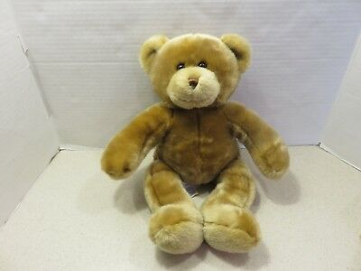 Build A Bear Workshop Bear Cream Beige Plush 16.5""