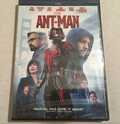 Ant-Man (DVD) (DVD, 2015) BRAND NEW - FREE SHIPPING!!!