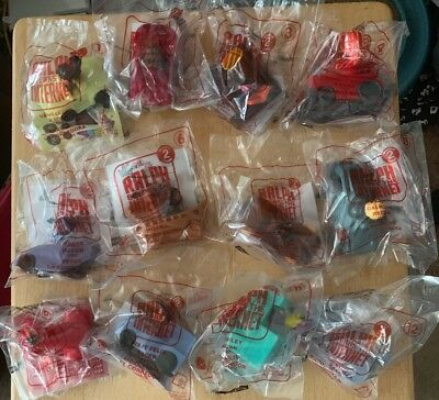 2018 Mcdonalds Happy Meal Ralph Breaks The Internet Set Of 12 (wreck It Ralph)