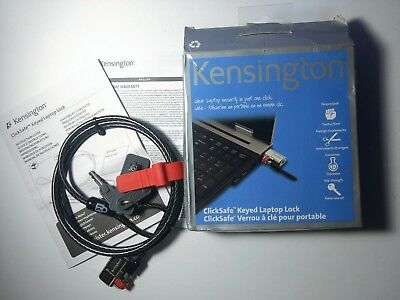 New Kensington ClickSafe Keyed Laptop Lock K64664CA