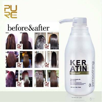 PURC Keratin Straightening 5% 8% 12% Treatment Hair Care Repair Healing 300ml x1
