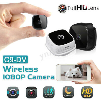 C9-Dv Mini Telecamera Ip Cam Camera Hd 1080P Wireless Visione Notturna