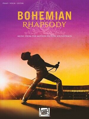 BOHEMIAN RHAPSODY - Soundtrack Queen PVG Book *NEW* Piano Vocal Guitar Music