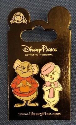 Disney trade pin The Rescuers Bernard and Bianca (I COMBINE THE P&P)
