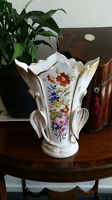Large Antique Porcelain Altar Vase