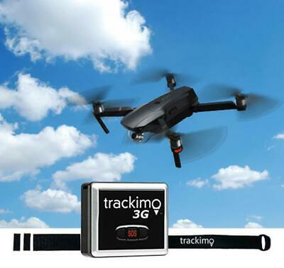 3G TrackimoDrone, GPS+SIM + Wi-Fi + Bluethooth +Ping. Incl. Drone Attachment Kit
