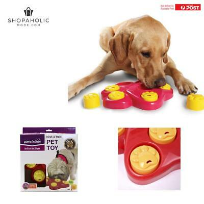 Puppy Dog Hound Food Treat Dispensing Interactive Puzzle Training Toys