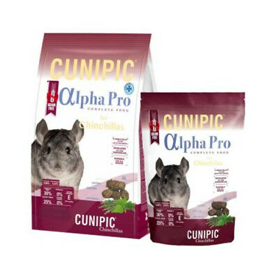 Pienso Chinchilla Alpha Pro 7Kg Alimento Completo para Chinchillas