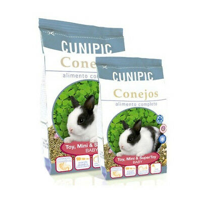 Cunipic 10Kg de Alimento para Conejo Toy, Mini y Super Toy Baby