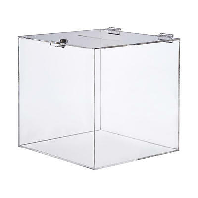 Large Raffle Box Clear Acrylic Suggestion Ballot Box Suggestion Box For Events
