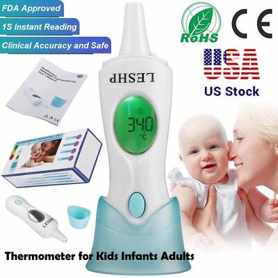 Infrared Electronic IR Baby Thermometer Digital LCD 4IN1 Kids Adults FDA CE SA