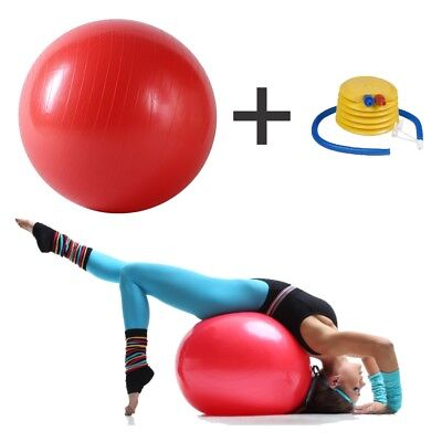Exercise Gym 75cmYoga Swiss Ball Fitness Pregnancy Birthing Anti Burst Core Ball