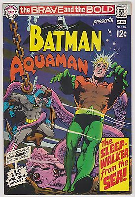 Brave and the Bold #82 Featuring Batman & Aquaman, Very Fine Condition