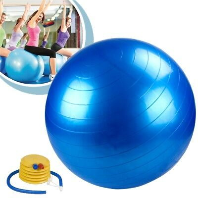 Exercise Gym Yoga Swiss Ball Fitness Pregnancy Birthing Anti Burst Balls 75cm