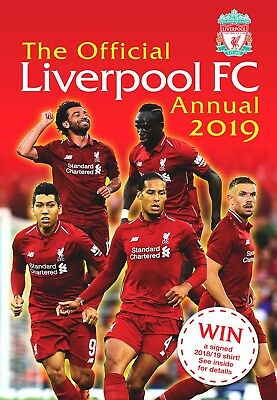 The Official Liverpool FC Annual 2019 (Football Annual)