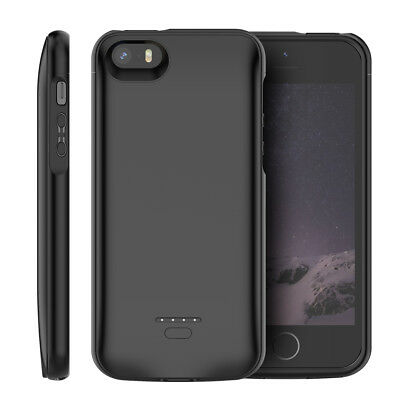 For iPhone SE 5SE 5 5S Rechargeable Extended Battery Backup Fast Charging Case