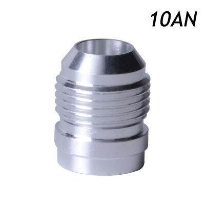 AN10 Male Weld On / Weld In Fitting Bung Billet Aluminum Hose Fitting Adaptor