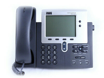 Cisco 7940G 2 Line Unified IP Phone SIP CP-7940G
