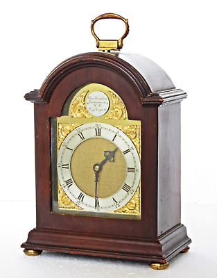 Quality Charles Frodsham Small Bracket Mantel Clock, Working Well 7 1/4""