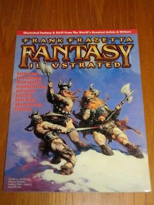 Frank Frazetta Fantasy Illustrated #5 March 1999 Special Edition Us Magazine =