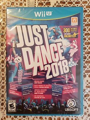 Wii U Just Dance 2018  (Nintendo Wii U) - New And Factory Sealed