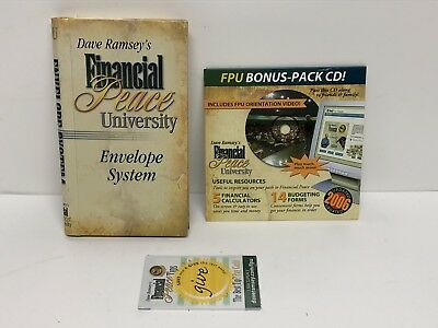 Dave Ramsey's Financial Peace University Envelope System with Bonus Pack CD