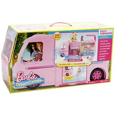 A Wonderfull Barbie DreamCamper Adventure Camping Playset for Ages 3Y+