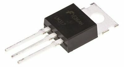On Semiconductor LM317T Lineal Tensión Regulador, 1.5aa ,Ajustable, 1.2Â ?? 37V