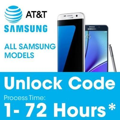 Unlock Network Service PIN Code For ALL at&t Samsung Galaxy phones