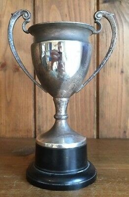 vintage silver plate 1965 Golf trophy, trophies, loving cup, trophy, golf