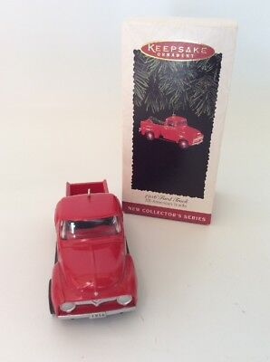 1956 Ford Truck ( #1 ) All American Truck Series, Hallmark Christmas - FREE SHIP
