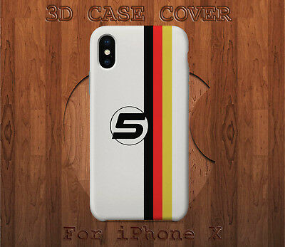 Sebastian Vettel 5 Pattern Style Case Cover for iPhone X XS XS Max