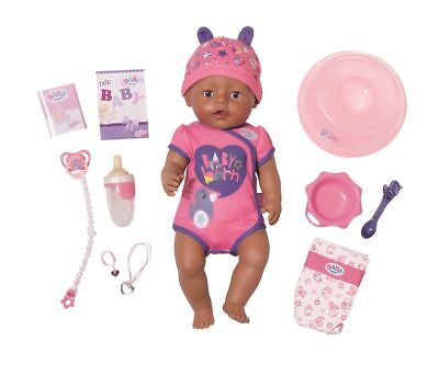 Baby Born Doll Soft Touch Girl Brown Eyes from 3 Years Zapf Creation 824382