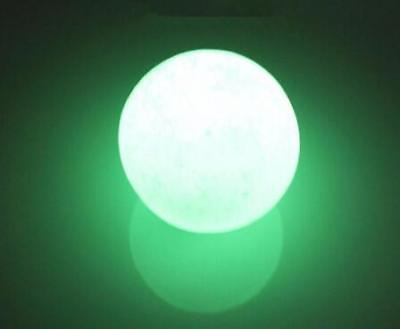 35mm Green Glow in the dark Calcite Glow In Luminous Crystal Ball The Dark Stone