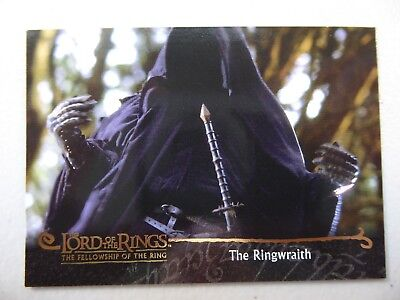 TOPPS Card : LOTR The Fellowship Of The Ring  #34 THE RINGWRAITH