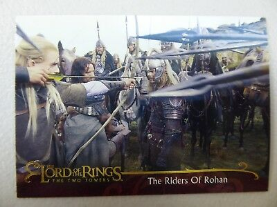 TOPPS Lord of the Rings: The Two Towers - Card #21 THE RIDERS OF ROHAN