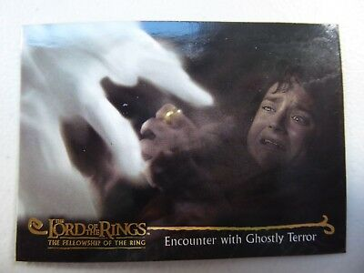 TOPPS Card : LOTR The Fellowship Of The Ring  #119 ENCOUNTER WITH GHOSTLY TERROR