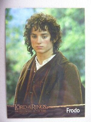 TOPPS Card : LOTR The Fellowship Of The Ring  #4 FRODO