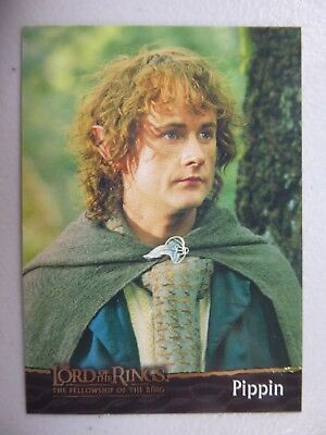 TOPPS Card : LOTR The Fellowship Of The Ring  #7 PIPPIN