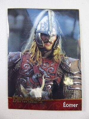 TOPPS Lord of the Rings: The Two Towers - Card #10 EOMER