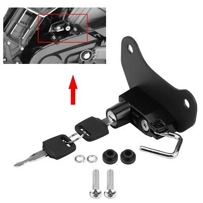 Motorcycle Helmet Lock Mount Hook With 2 Keys for Indian Scout Sixty 2015-2018
