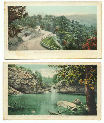 Lookout Mountain Lot of 2 Old Postcards Tennessee