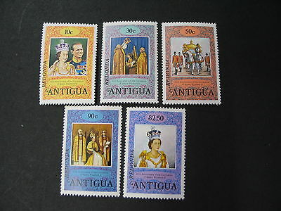Redonda NO Scott MNH 25th Anniversary QE II Coronation