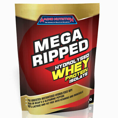 3Kg Whey Protein Isolate Wpi / Amino Nutrition Mega Ripped Low Carb Low Fat