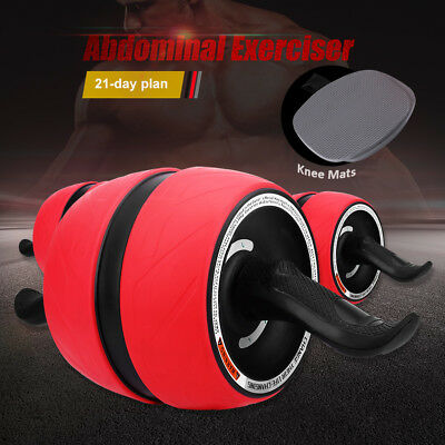 Pro Perfect Carver Workout Fitness AB Abdominal Exercise Roller Trainer Gym AU