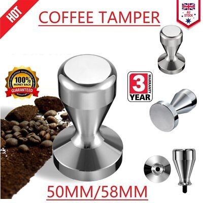 COFFEE TAMPER 51mm/57MM Polished Stainless Steel Tampa Coffee Accessories 0JF