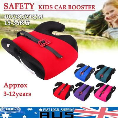 Secure Car Seat Booster Children Toddler Baby Soft Safety Cushion For 15-36kg