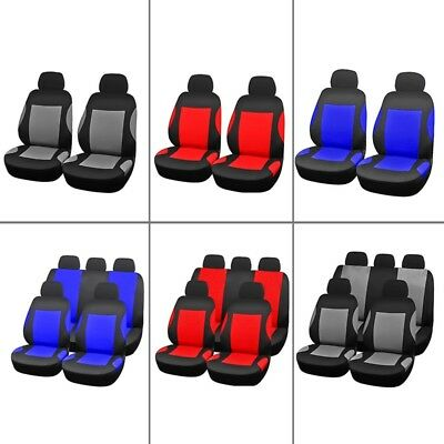4/9Pcs/Set Breathable Car Seat Cover Front Chair Mat Pad Protector Cushion Great
