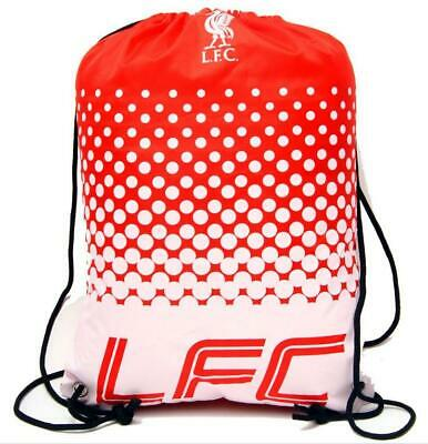 FC Liverpool Sports Bag Adult Backpack Drawstring Gymbag,Football Premier League
